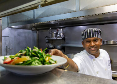 Meet Chef Guna, Head Chef at Cobalt Coast Resort